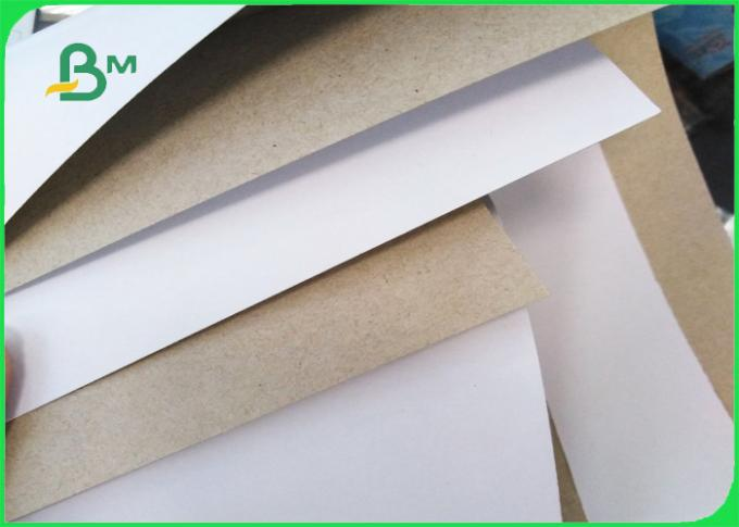One Side Coated Duplex Board Grey Back 350gsm Smooth Surface Folding Carton Board 2