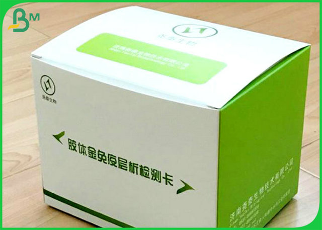 400gsm 100 white virgin pulp cellulose cardboard for