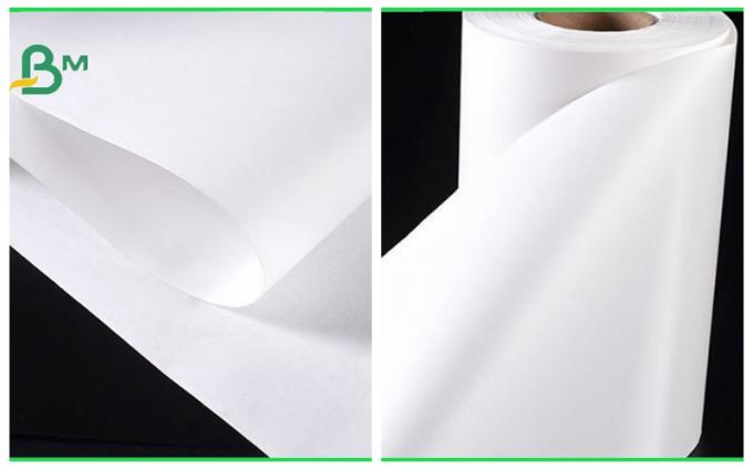 32 / 35 / 40grams MG White Kraft Paper FDA Roll Packaging For Packing Chips
