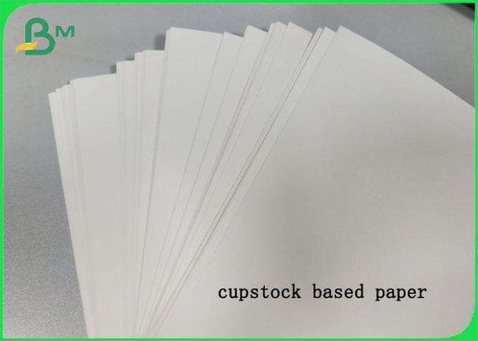 PE Coated Cupstock Based Paper Roll & Sheet 170GSM - 210GSM Degradable Material