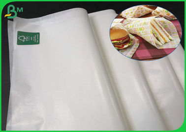 Food Grade Glossy FSC Certified Paper 22 gsm 30gsm 35gsm Wood Pulp Material