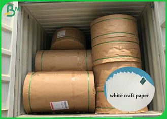 High Whiteness White Craft Paper Roll 60g 80g 100g 200g With 100% Virgin Pulp