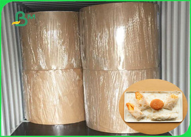 Food Grade Thickness 30gsm - 100gsm MG Kraft White For Fast Food Packing