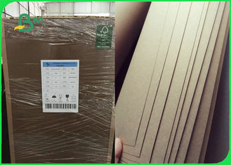 100% Virgin FSC Kraft Liner Board Paper Durable 400gsm For Mailling Boxes