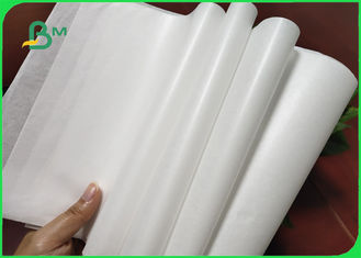 China 32 / 35 / 40grams MG White Kraft Paper FDA Roll Packaging For Packing Chips supplier