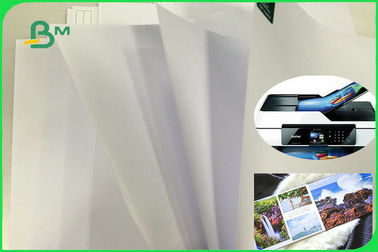 Long Grain Wood Free Uncoated Offset Printing Paper With High Whiteness FSC