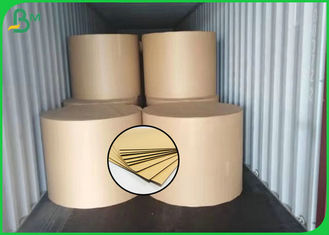 160GSM Good Quality FSC Brown Color Kraft Liner Board For Making Storage Box