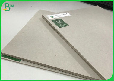 100% Recycled Paper Board Grey Laminated Sheets 1.7mm 2.5mm Pressed Board