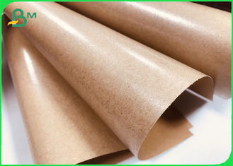 Brown Kraft Paper Coated With PE 80gsm + 15gpe Single Side Coated