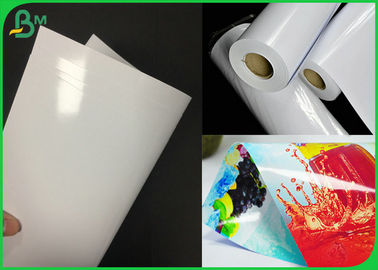 Double Side Coated White RC Inkjet Photo Paper For Printing Poster