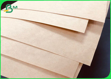 High Tear Resistance Brown Sack Kraft Paper 90GSM For Bags Making