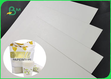 China One Side Coated 300g PLA Coating Paper Completely Degraded For Office Cups supplier