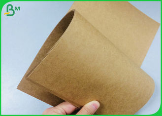 135g 170g 250g Recycled Brown Kraft Paper Reel For Gift Carton Box