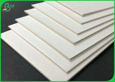 0.4mm 0.7mm Virgin Pulp Uncoated Cardboard Plain Absorbent Paper Sheet For Beermat