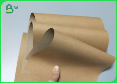China 80G 90G Craft Linerboard For Box & Carton Yellow Brown Wood Pulp supplier