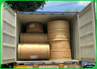 China Virgin Wood Pulp White Kraft Paper Roll Fluorescent Free 60G 80G 120G factory