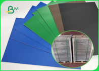 Blue / Green / Red / Black Lacquered Solid Paperboard 1.5mm 72 * 102cm