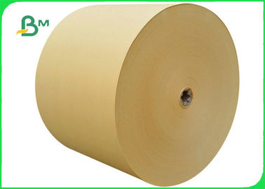 China Eco Friendly Natural Kraft Paper Roll , 100GSM Kraft Paper Jumbo Roll factory