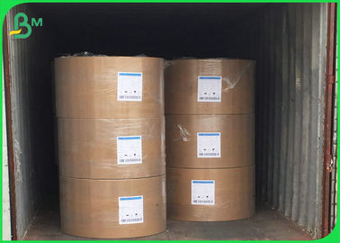 China Natural Kraft Paper Roll 200gsm 230gsm 240gsm 250gsm 300gsm For Cartons / Hand Bags factory