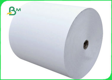 China 100gsm 120gsm Natural Kraft Paper Roll Virgin Pulp Material For Shopping Bag factory