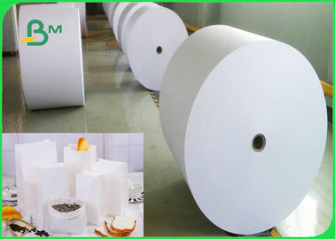 China Food Grade Bleached Kraft Paper Roll For Meat Package 60gsm 70gsm 80gsm 120gsm factory